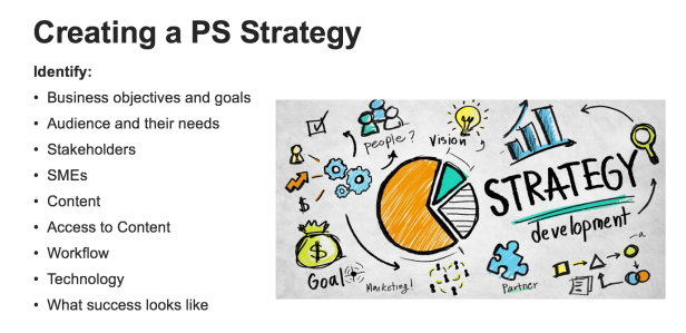 Creating a PS Strategy